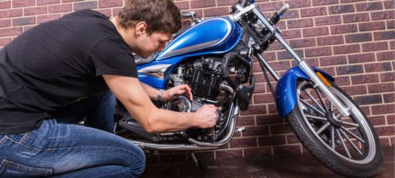 Équipement et entretien de la moto