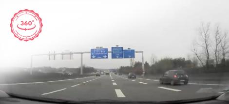 Conduite sur voie rapide : insertion, distance de sécurité et dépassement en 360°
