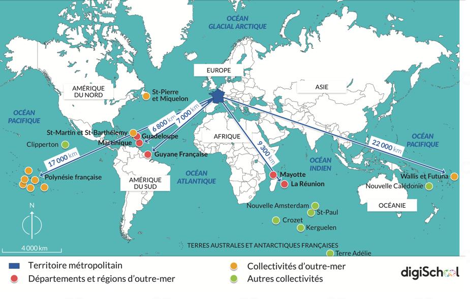 Éloignement des territoires ultra-marins