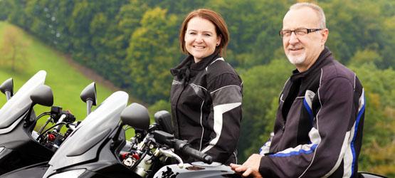 La forme physique du motard et la conduite