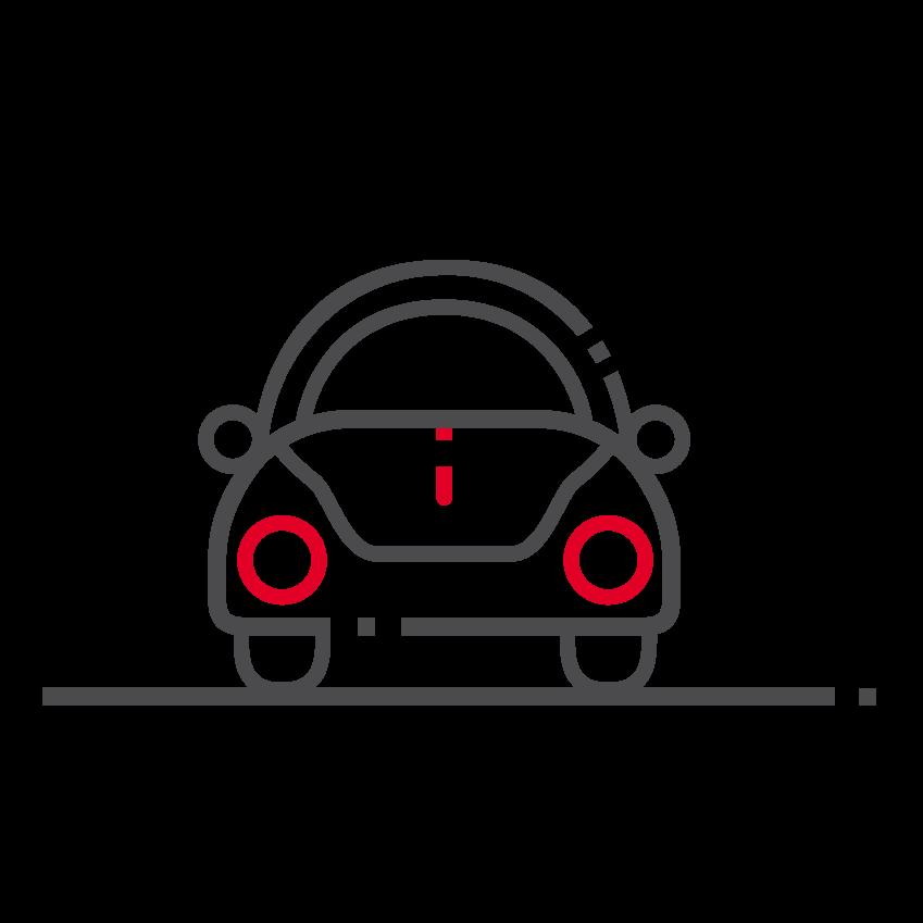 Icône thématique Le véhicule