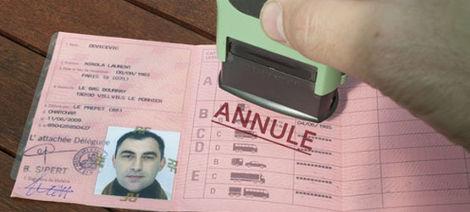 Le retrait du permis définitif