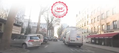 Savoir se placer et partager la chaussée : explications en 360° !