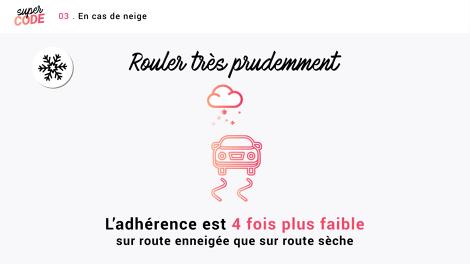 Route : Conduire selon le climat