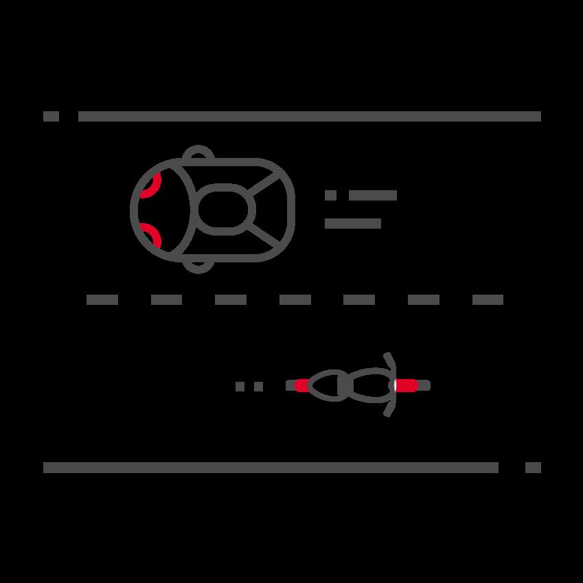 Icône thématique Partager la route