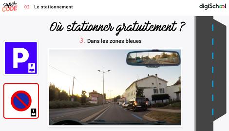 Circulation : Arrêt et stationnement