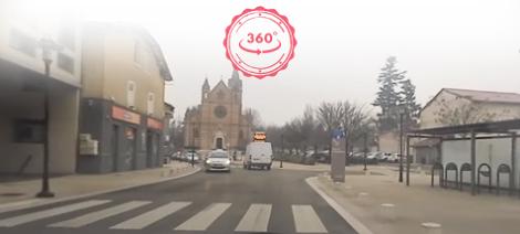 Parcours type pour examen du permis de conduire : entraînez-vous en 360°
