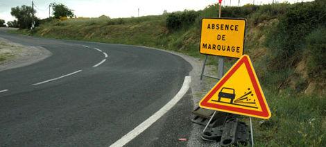 Panneaux de signalisation temporaire