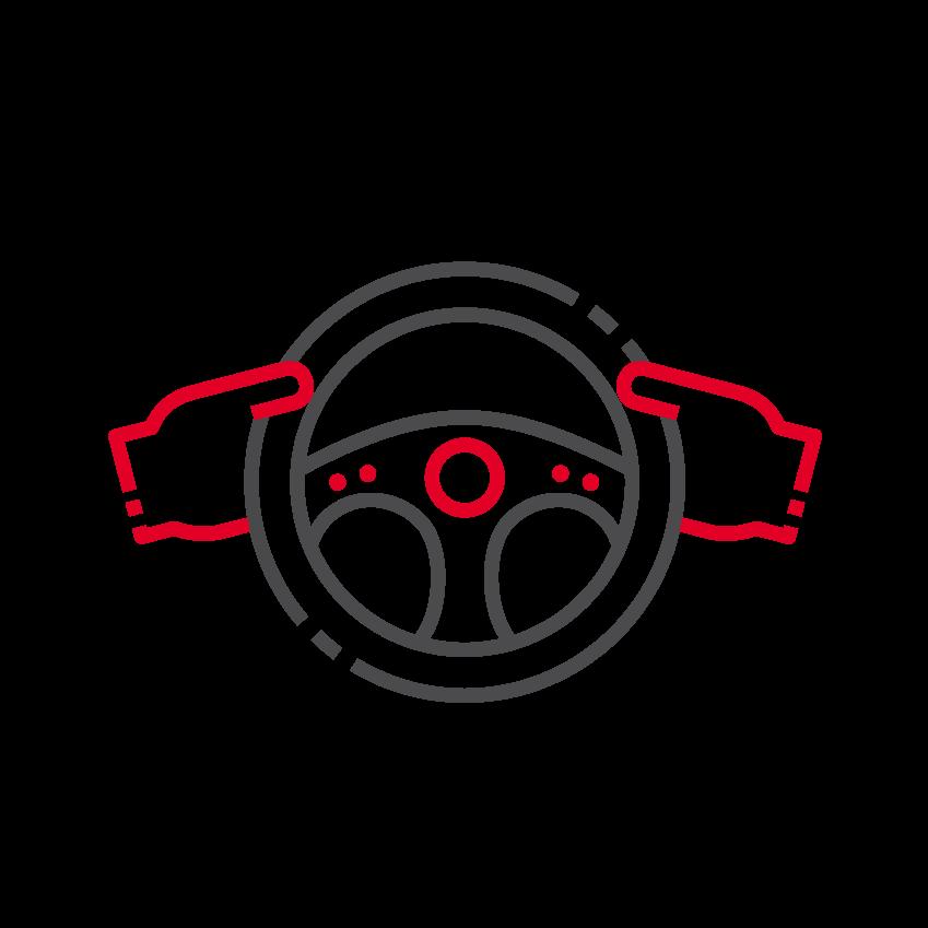 Icône thématique Le conducteur
